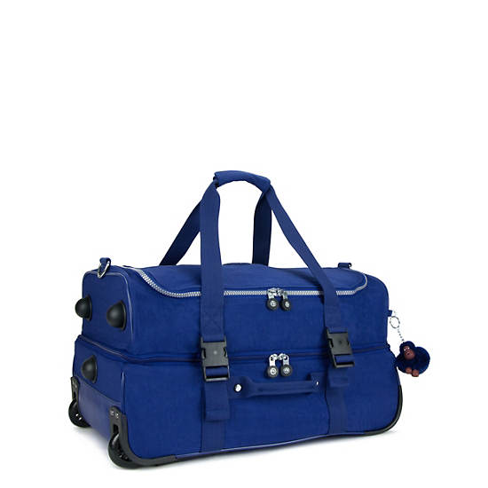 Teagan Small Wheeled Duffel,Ink Blue,large