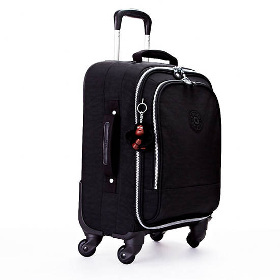 Yubin 55 Spinner Luggage,Black,large