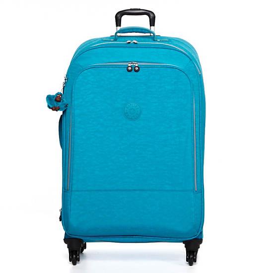 Yubin 81 Spinner Luggage,Turq Blue,large