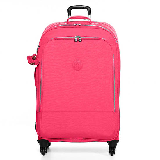 Yubin 81 Spinner Luggage,Vibrant Pink,large