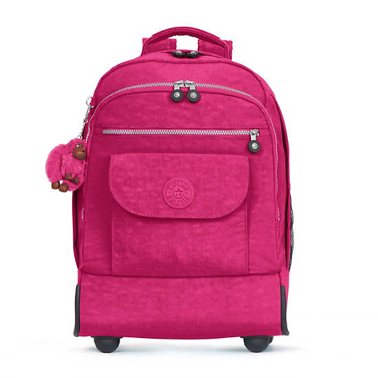 Sanaa Wheeled Backpack,Very Berry,large