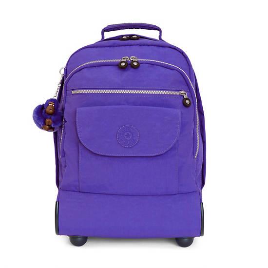 Sanaa Rolling Backpack - Sapphire | Kipling