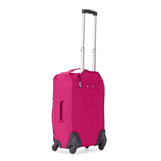 Darcey Small Wheeled Luggage - Very Berry | Kipling