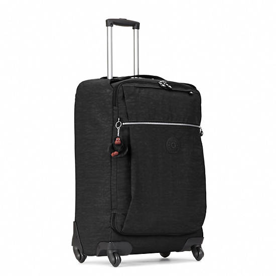 Darcey Medium Rolling Luggage,Black,large