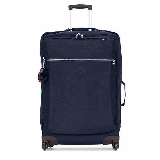 Darcey Large Wheeled Luggage,True Blue,large