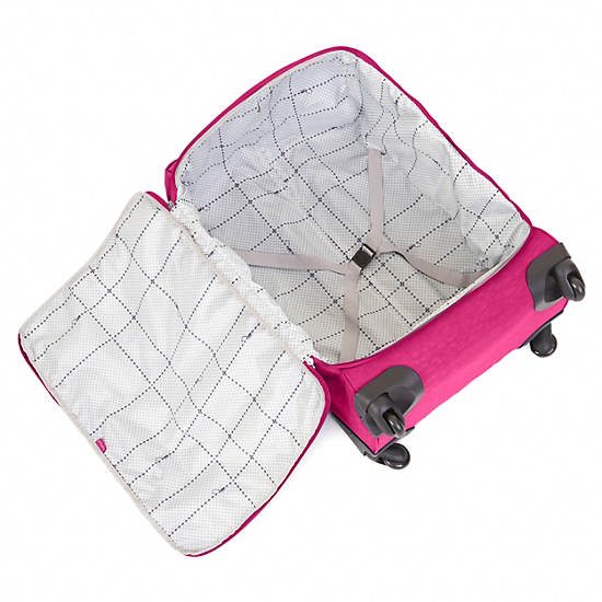 Darcey Large Wheeled Luggage,Very Berry,large