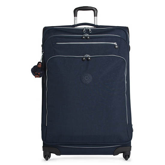 Florida Lite Large Expandable Luggage,True Blue,large