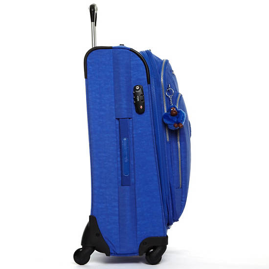 New Mexico Lite Medium Expandable Luggage,Glacier Blue,large