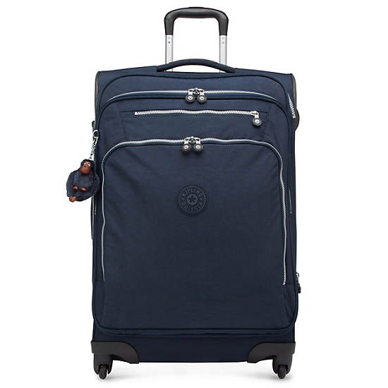 New Mexico Lite Medium Expandable Luggage,True Blue,large