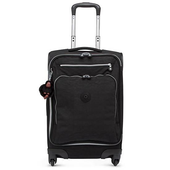 New York Lite Carry-On Wheeled Luggage,Black,large