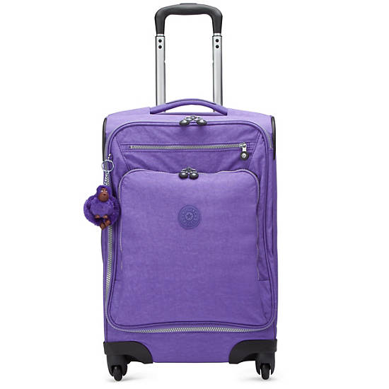New York Lite Carry-On Wheeled Luggage,Vivid Purple,large