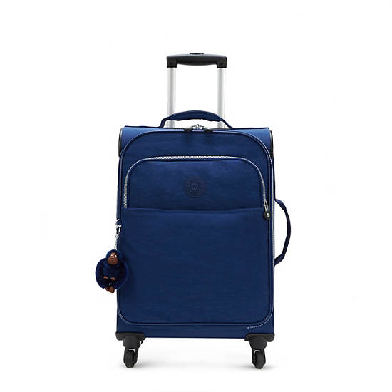 Parker Small Wheeled Luggage - Ink Blue | Kipling