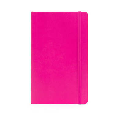 POPPIN MEDIUM SOFT COVER NOTEBOOK - Pink