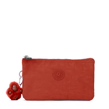 Creativity Large Pouch - Red Rust