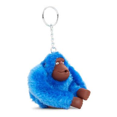 Sven Monkey Keychain - Saxony Blue