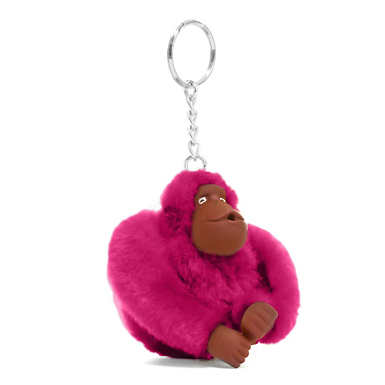 Sven Monkey Keychain - Very Berry