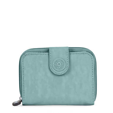 New Money Deluxe Wallet - Sea Green