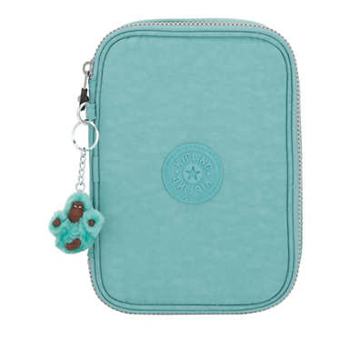100 Pens Case - Baltic Mint Green