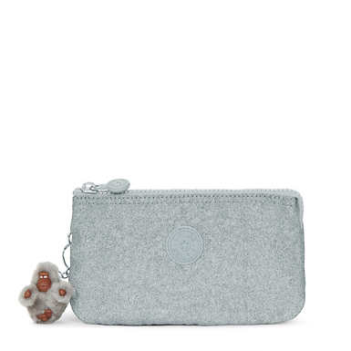 Creativity Metallic Large Pouch - Silver Glimmer Metallic