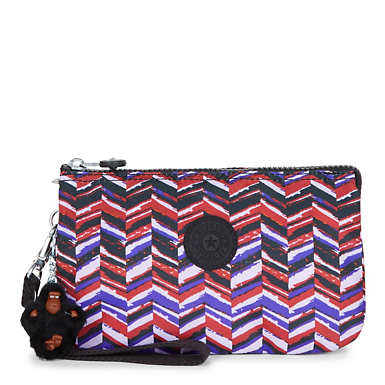 Creativity XL Printed Pouch - Dashing Stripes