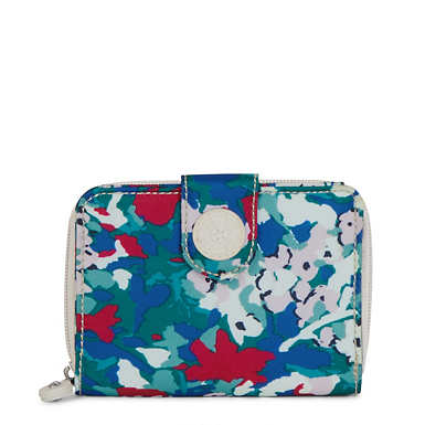 New Money Printed Wallet - Tinted Floral
