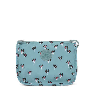 Harrie Printed Pouch - Fan Florals