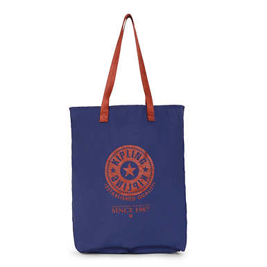 Hip Hurray Tote - Denim Blue