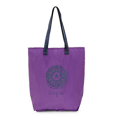Hip Hurray Tote - Purple Feather