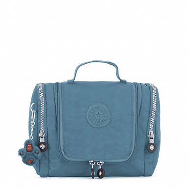 Connie Hanging Toiletry Bag - Blue Bird