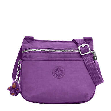 Emmylou Crossbody Bag - Purple Feather
