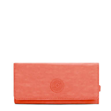 New Teddi Snap Wallet - Blood Orange