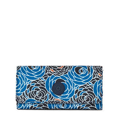 New Teddi Printed Snap Wallet - Piercing Posies