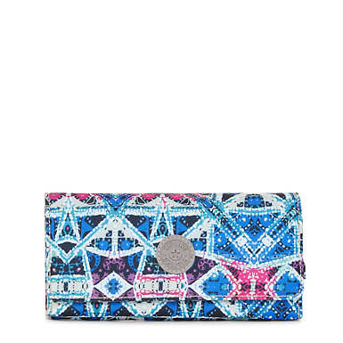 New Teddi Printed Snap Wallet - undefined