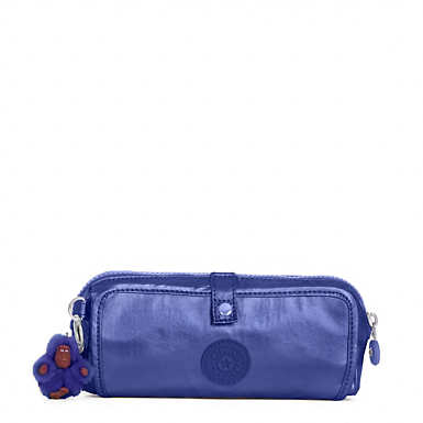 Wolfe Metallic Roll-Up Pencil Pouch - undefined