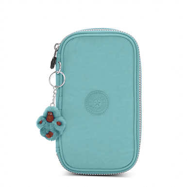50 Pens Case - Baltic Mint Green