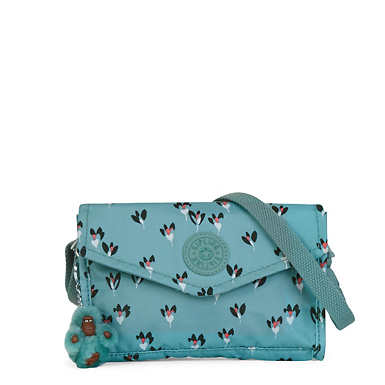 Bee Crossbody Mini Bag - Fan Florals