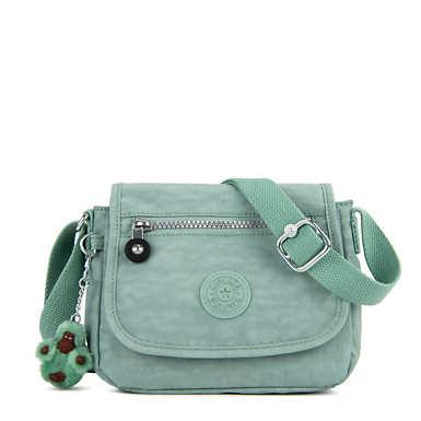 키플링 Kipling SabianCrossbody Minibag,Fern Green