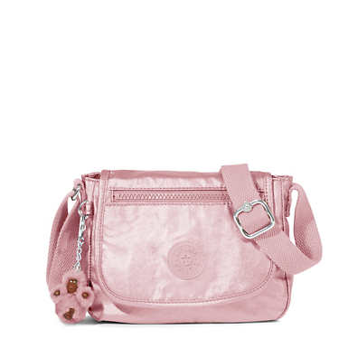Sabian U Crossbody Metallic Mini Bag - Icy Rose Metallic
