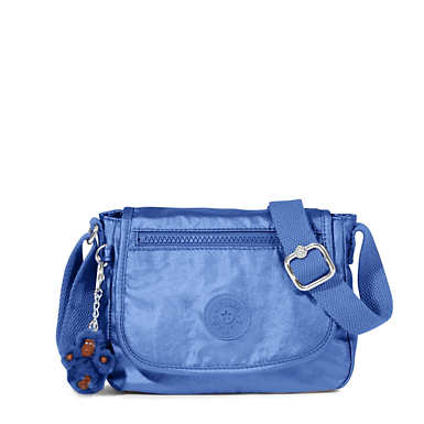 Sabian U Crossbody Metallic Mini Bag - Scuba Diver Blue Metallic