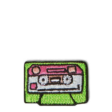 Cassette Tape Peel and Stick Patch - Multi
