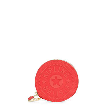 Marguerite Zip Pouch - Candy Red