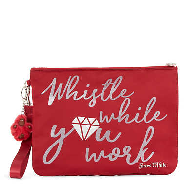 Disney's Snow White Sweetie Large Wristlet Pouch - Candied Red