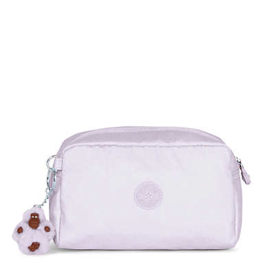 Gleam Metallic Pouch - Whimsical Pink