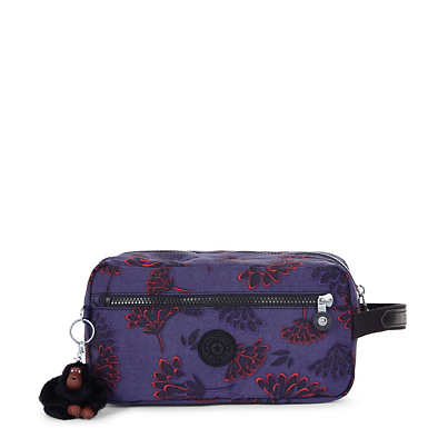 Agot Large Printed Toiletry Bag - Floral Night