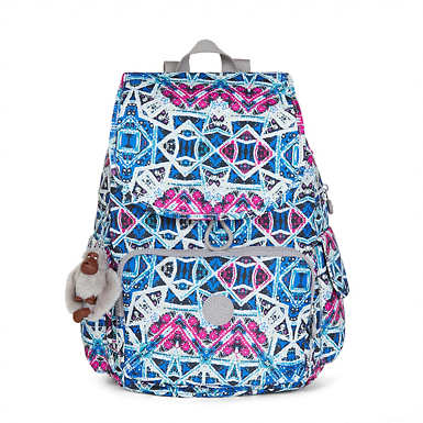 Ravier Medium Printed Backpack - Brightside Sky