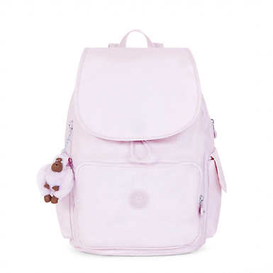 Ravier Medium Metallic Backpack - Whimsical Pink