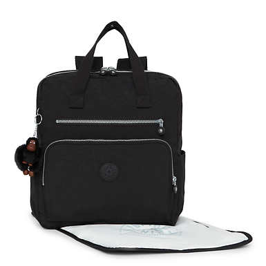 Audrie Backpack Diaper Bag - Black