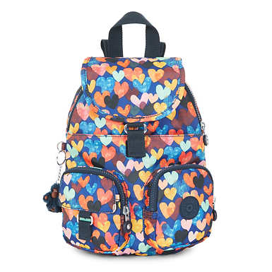 Lovebug Printed Small Backpack - Happy Dazzle