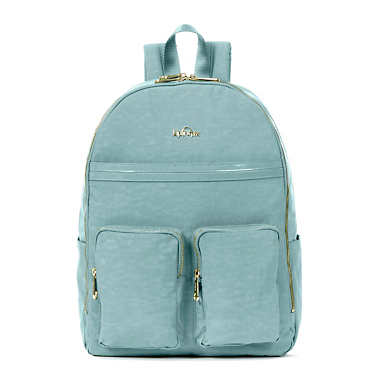 Tina Large Laptop Backpack - Sea Green