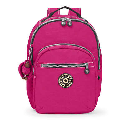 Seoul Large Vintage Laptop Backpack - Very Berry